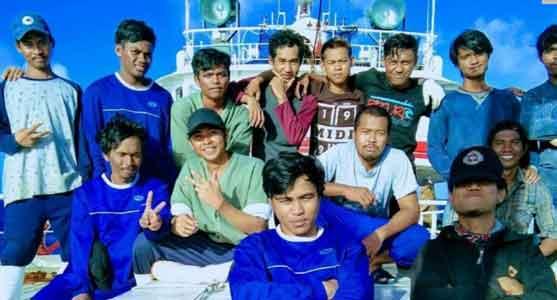 中国漁船―インドネシア