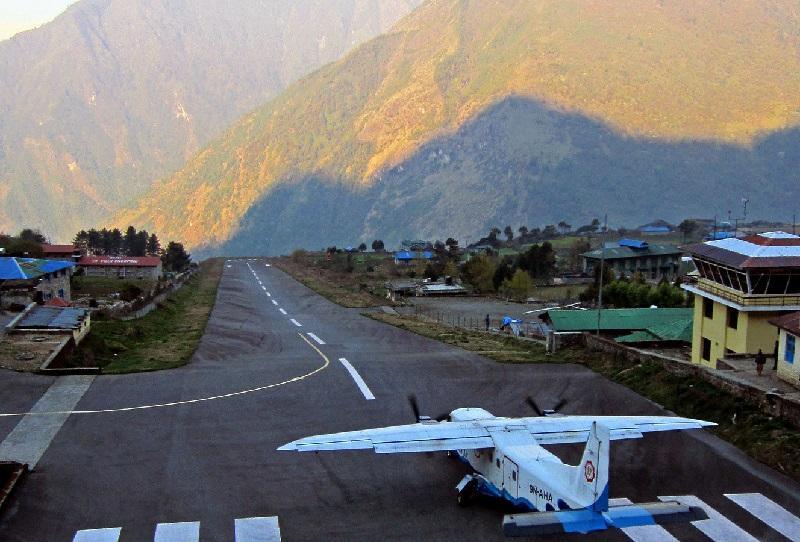 ネパール、ルクラ空港-Lukla Airport, Nepal